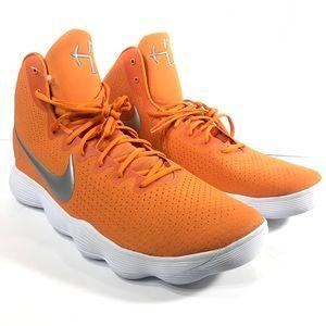 Nike Orange Hyperdunk Texas Long Horns Shoes 20